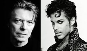 Prince and Bowie