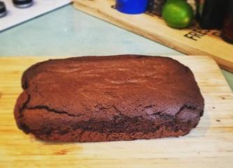 Chocolate orange loaft cake